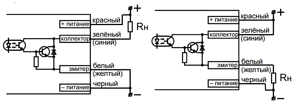Схема подключения Микра Ф3