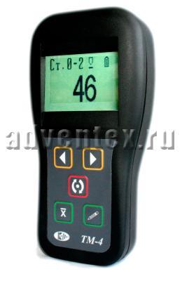 Толщиномер вихретоковый защитных покрытий ТМ-4 фото 1