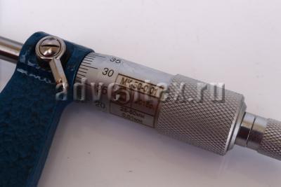 Гладкий микрометр МК-50 крупный план