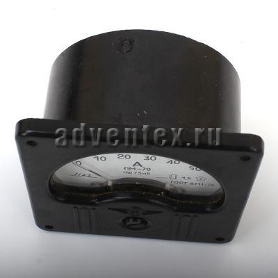 Амперметр щитовой ПМ-70 - фото