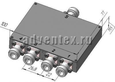 Делители мощности  ELZ  095-215 фото 1
