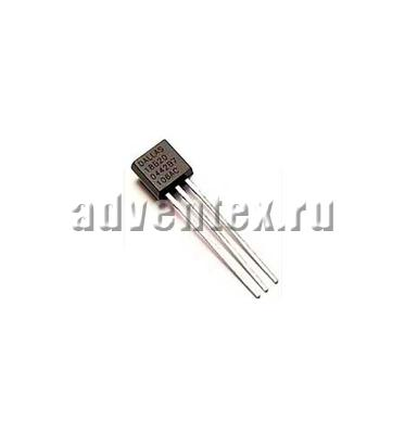 Фото DS18B20 (TO-92-3pins)