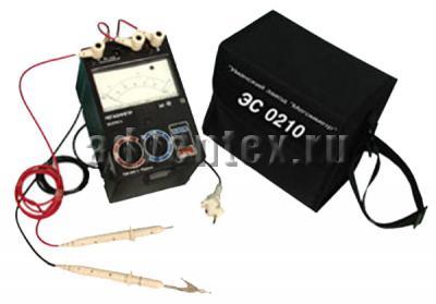 Мегаомметры серии ЭС0210 общий вид комплектации