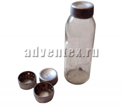 Колпачок-пробка алюминиевый для мерных флаконов К-4