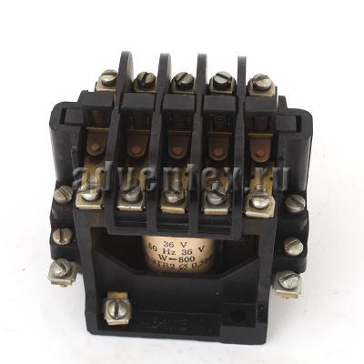 Магнитный пускатель ПМЕ-111В 36В к тестомесу Л4-ХТВ - фото 1
