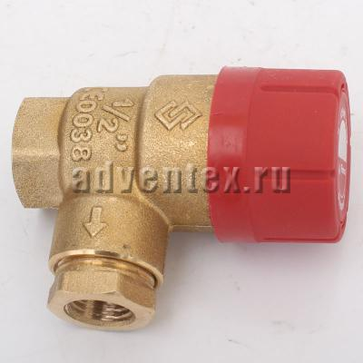 Предохранительный клапан Prescor 3 bar 1-2 резьбовой - фото №1
