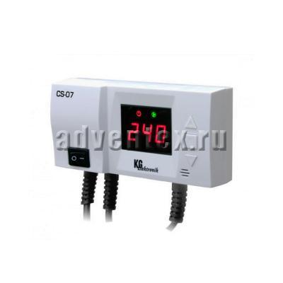 Фото терморегулятора KG Elektronik CS-07