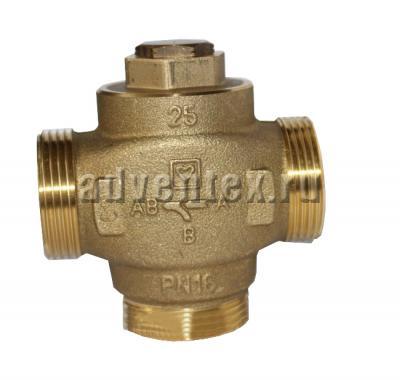 Трехходовой смесительный клапан термостатический HERZ Teplomix DN32 - 1 7766 04 фото 1