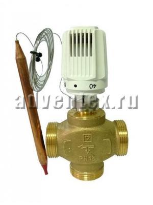 Трехходовый термостатический клапан Herz CALIS-TS-RD 1