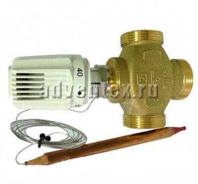 Трехходовый термостатический клапан Herz CALIS-TS-RD 3/4