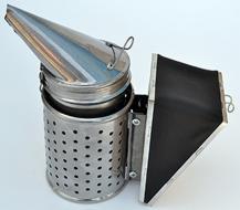 Дымарь пасечный со съемным мехом с ограждением фото 1
