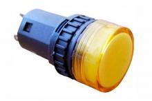 Фото арматуры светосигнальной AD16-16DS желтая