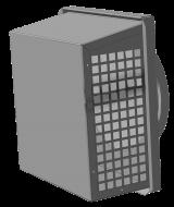 Решетка-вытяжка с сеткой Канал-РВС фото 1