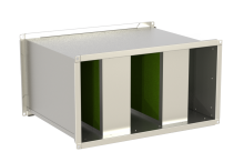 Шумоглушитель канальный пластинчатый Канал-ГКП фото 1